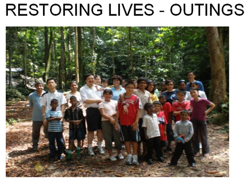 Restoring Lives - Outings